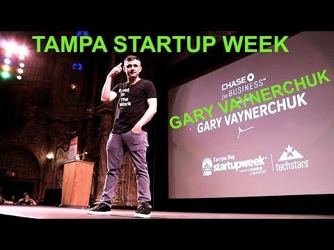 Gary Vaynerchuk Keynote | Tampa Bay Startup Week