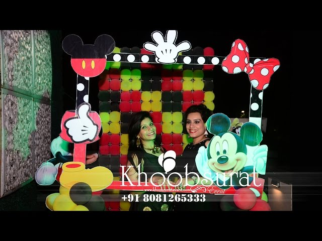 Mickey mouse theme party by khoobsurat event Lucknow