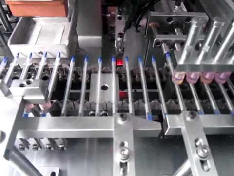 Machine de production de stylos
