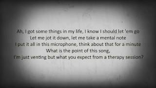 NF Lyrics- Therapy Session