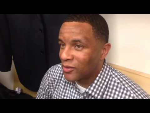 Arizona assistant coach Damon Stoudamire on the comeback win