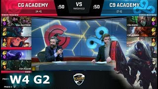 Video Clutch Academy vs Cloud 9 Academy | Week 4 NA Academy League Summer 2018 | CGA vs C9A download MP3, 3GP, MP4, WEBM, AVI, FLV Agustus 2018