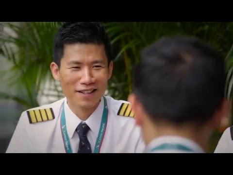 Cathay Pacific - From Cadet to Pilot