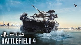 Battlefield 4 PS4 Gameplay - Helicopter Gunner Multiplayer Livestream NEXT GEN Playstation 4