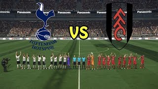 Tottenham vs Fulham - England Premier League 2018/19 Gameweek 2 | Gameplay PC