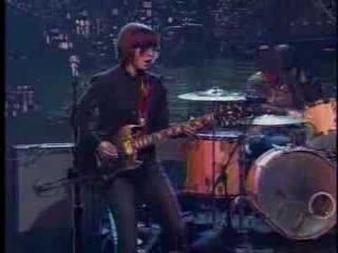 Sleater-Kinney Live on Letterman