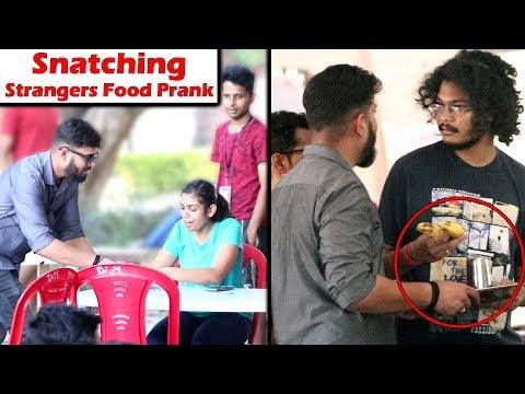 Snatching Stranger's Food Prank in IIT Kanpur | Unglibaaz