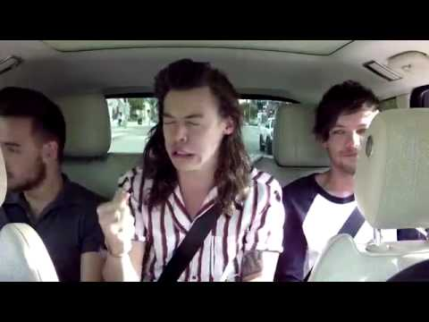 Best song ever || Carpool Karaoke xD one direction