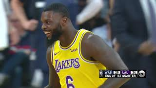 Lance Stephenson Drops Jeff Green With Nasty Move, Lakes Bench Goes Wild