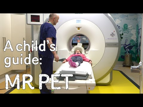A child's guide to hospital: MR PET