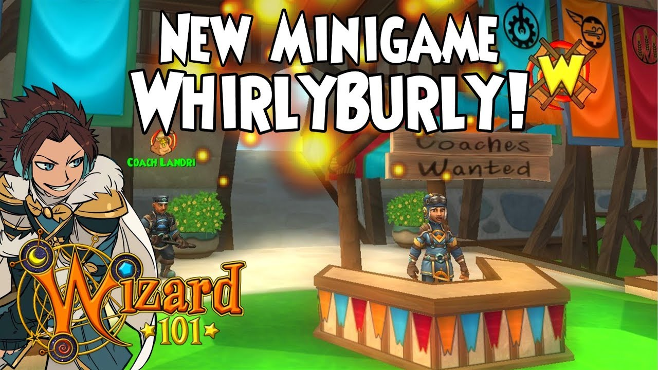 Wizard101 – New WhirlyBurly Minigame! (Test Realm)