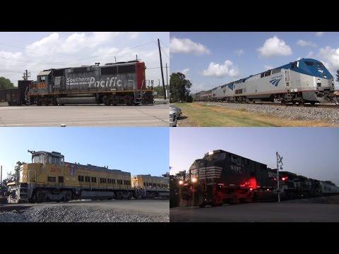 Railfanning Dayton TX 7/11/2016