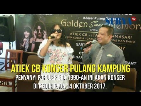 SENSUALITAS ATIEK CB DALAM USIA 54 TAHUN - Jelang Konser Pulang Kampung di Kediri