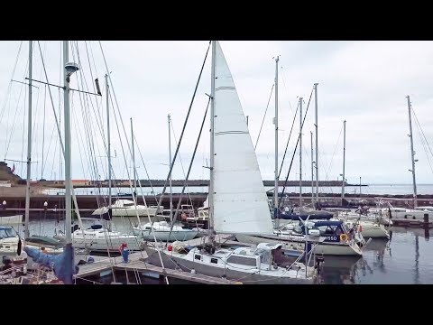 Could I BE More Excited? l Launching & Our NEW Precision Mainsail!  (MJ Sailing - Ep 105)