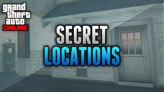GTA 5 Hidden & Secret Locations Online! - 5 Secret Places on GTA 5 Online (GTA 5 Glitches)