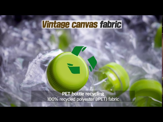 Fabrics Promotional Video - Waxed canvas. suede leather. glove material - DAEJIN S&T Co.,Ltd.