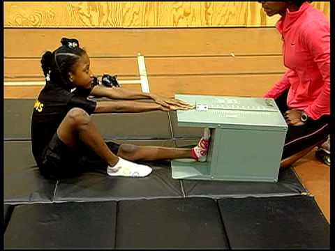 Alabama Physical Fitness Assessment BACKSAVER sit and reach