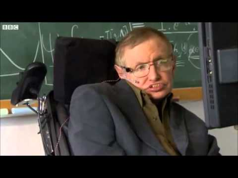 Stephen Hawking's battery running out