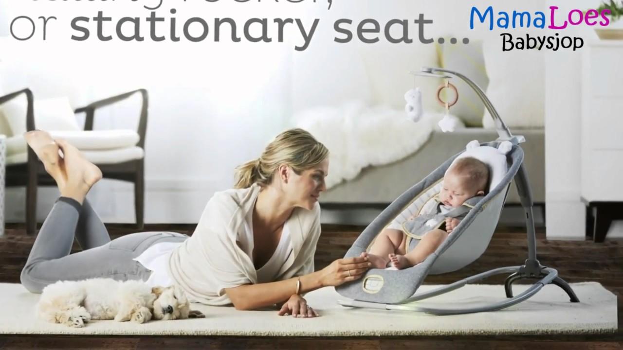 Bright Starts Stoel.Mamaloes Babysjop Bright Starts Ingenuity Boutique Rocking Seat
