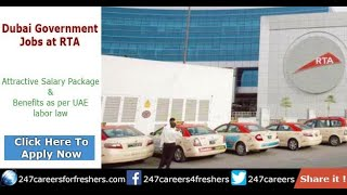 RTA Careers - Roads & Transport Authority Government Jobs