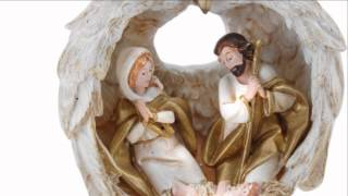 Holy Family In Angel Wings Ornament