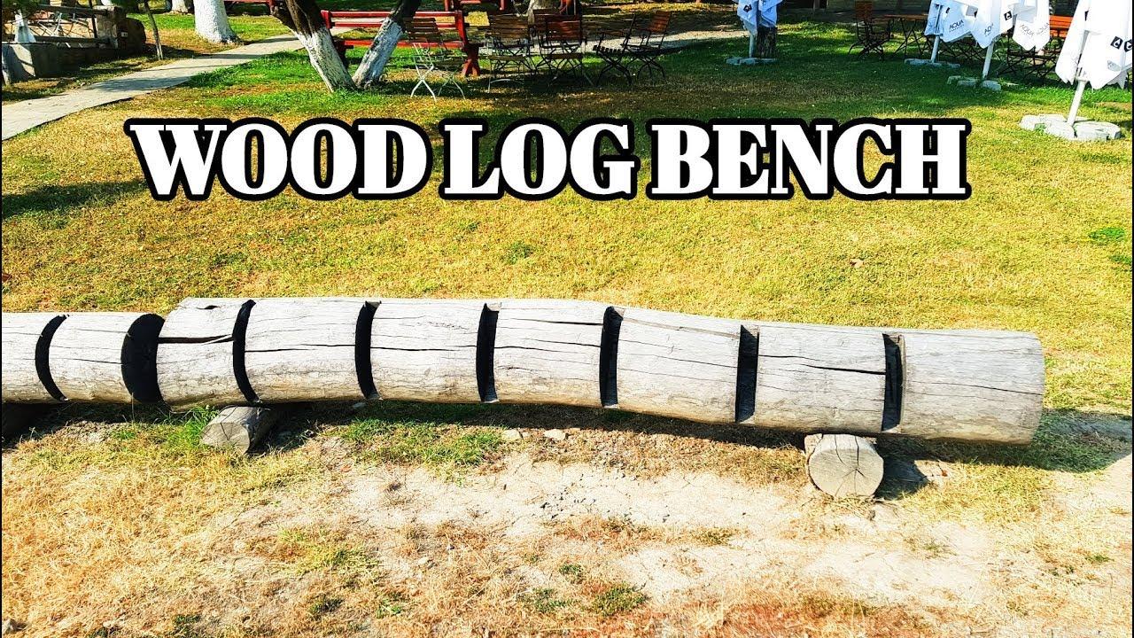 Wood Log BENCH Idea 2019 | Awsome Bench creative design #1 image