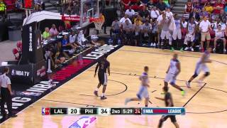 Los Angeles Lakers vs Philadelphia 76ers | July 16, 2014 | NBA Summer League 2014
