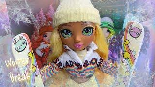 Rainbow High Winter Break Sunny Madison Doll Review!! | Zombiexcorn