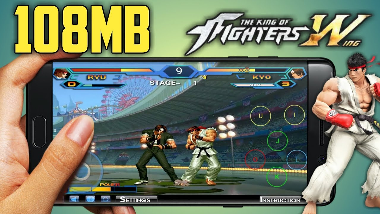 Download King of Fighter Wing ex 1 02 on Android