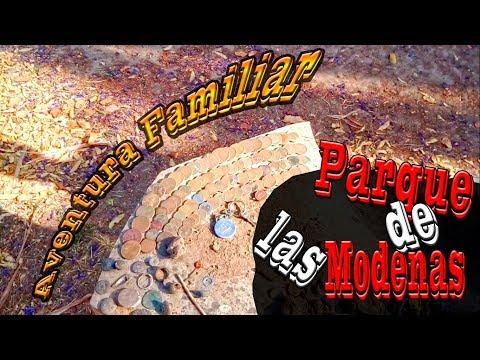Aventura Familiar los Buscadores De Tesoros: Deteccion  metalica en el parque de las monedas 4