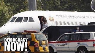 Assange on the Untold Story of the Grounding of Evo Morales' Plane During Edward Snowden Manhunt