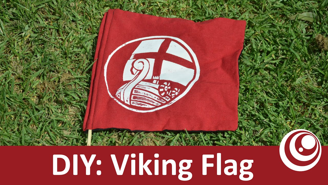 diy - make your own flag