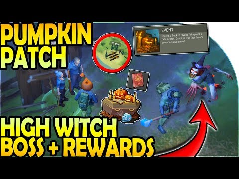NEW PUMPKIN FIELD + HIGH WITCH BOSS + HALLOWEEN REWARDS - Last Day on Earth Survival Update 1.10