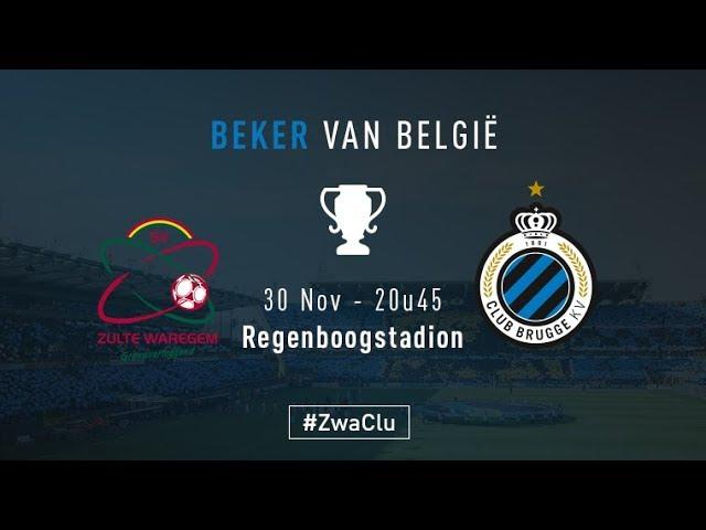 ZULTE-WAREGEM - CLUB BRUGGE | Matchverslag Beker van België | 2017-2018