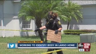 Decomposing body found in Largo home
