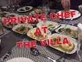 PRIVATE CHEF AT THE VILLA - HALAL STAG (Vlog #9)