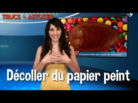 trucs et astuces d coller du papier peint youtube. Black Bedroom Furniture Sets. Home Design Ideas