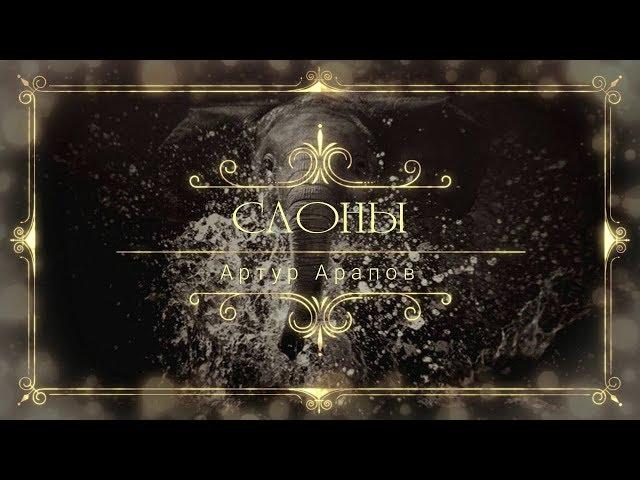 Слоны - Артур Арапов (Премьера песни 2019)