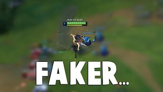 Faker SHOWS What HIS AKALI IS CAPABLE OF... | Funny LoL Series #497