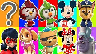 Disnery Jr Mickey Mouse Clubhouse Slime Game with Top Wings, The Octonauts & Paw Patrol