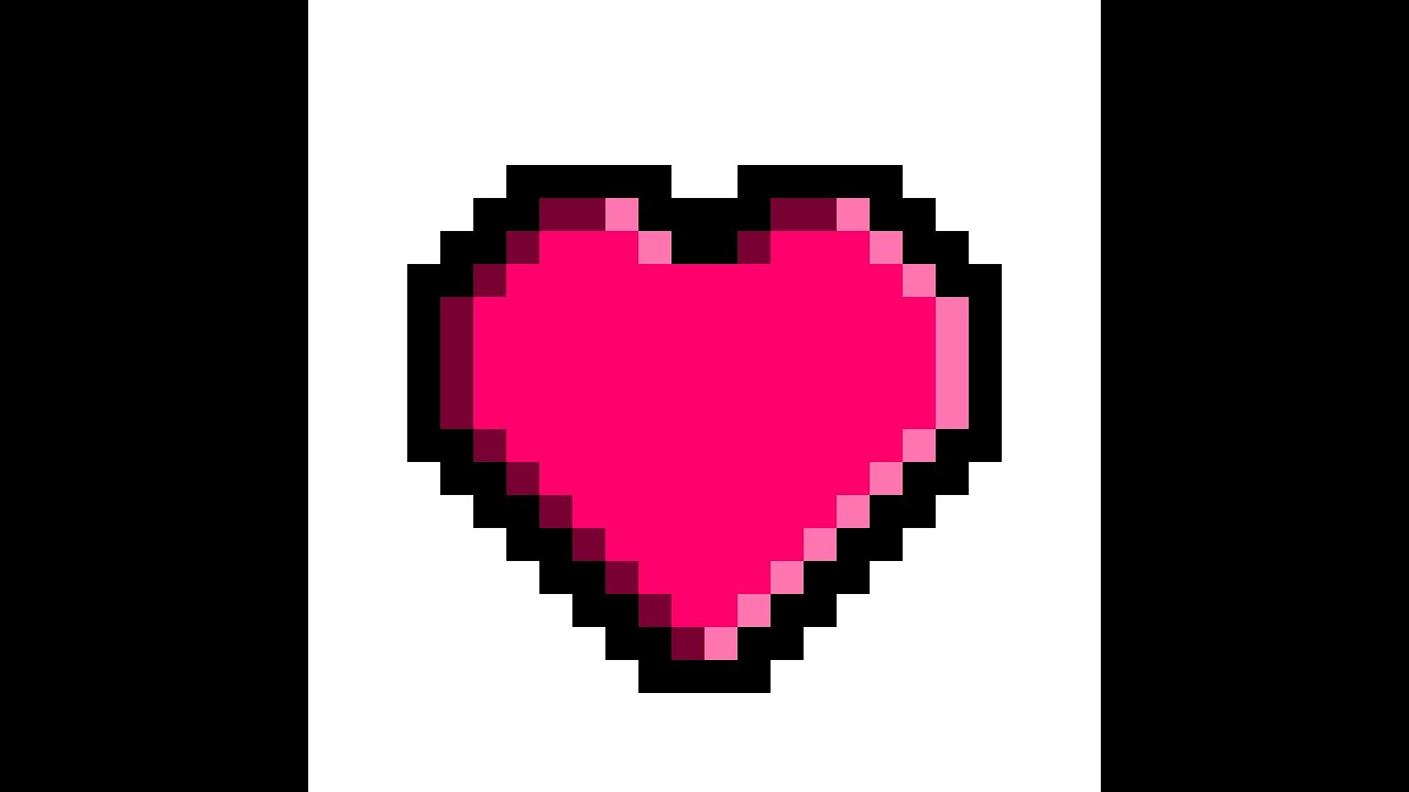 Potoshop 2 How To Make A Pixel Heart By Arts From Life Youtube #floaties #hearts #gif #pixels #kawaii aesthetic #love core #pixel heart. potoshop 2 how to make a pixel heart by arts from life