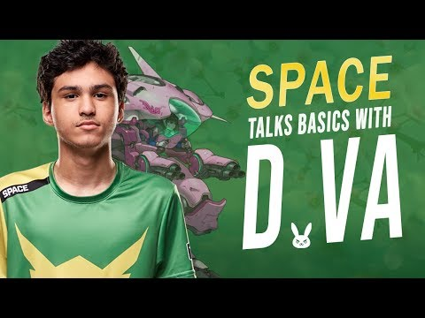 D.VA BEGINNER TIPS FROM AN OVERWATCH PRO | LA VALIANT SPACE thumbnail