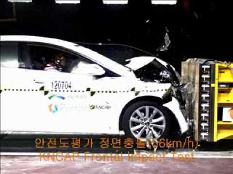 2012 KNCAP Frontal Impact Test Hyundai i40