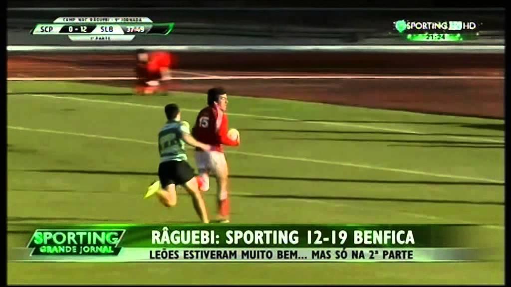 Rugby :: 09J :: Sporting - 12 x Benfica - 19 de 2014/2015