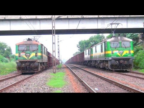 Heavy Haul WAG-9's on Rampage: Indian Railways
