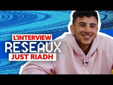 JustRiadh Interview Réseaux : Trône tu stream ? Marine Le Pen tu follow ? Malik Bentalha tu likes ?