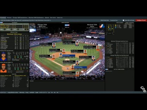 Out of the Park Baseball 17 -  1994 Expos vs 1994 White Sox - The WS that never happened