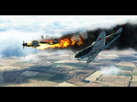 IL-2 Sturmovik: Battle of Stalingrad - 4 Kill & Emergency Landing