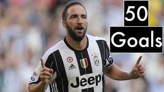 Gonzalo Higuain / 50 Goals for Juventus / 2016 - 2018