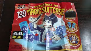 Magic Tricks from Spectacular Magic Suitcase kit